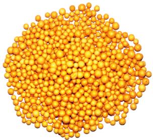 ポリマー被覆硝酸カリウム